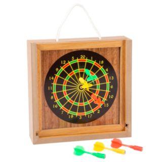 Hey! Play! Tabletop Bean Bag Toss & Magnetic Dart Game Set