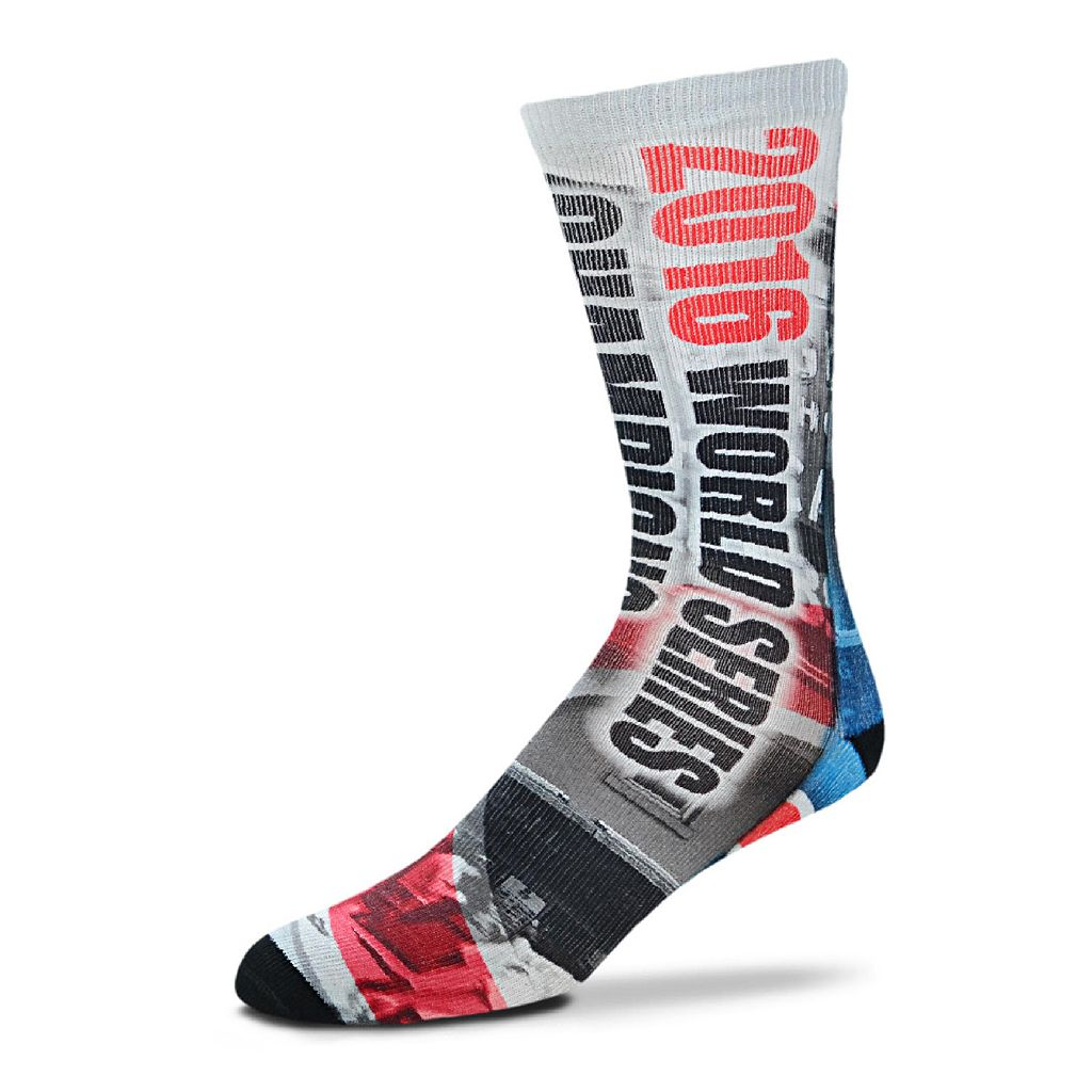 Adult For Bare Feet Chicago Cubs Hometown Mid-Length Socks