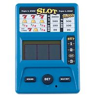 Trademark Games Electronic Handheld Slot Machine Game