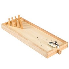 Hey! Play! Tabletop Wooden Bowling Game