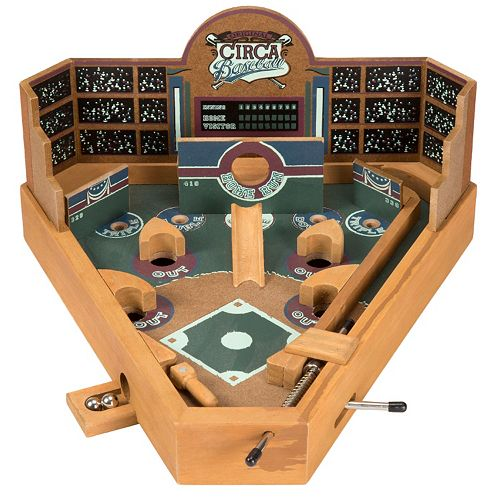 Hey! Play! Tabletop Baseball Pinball Game