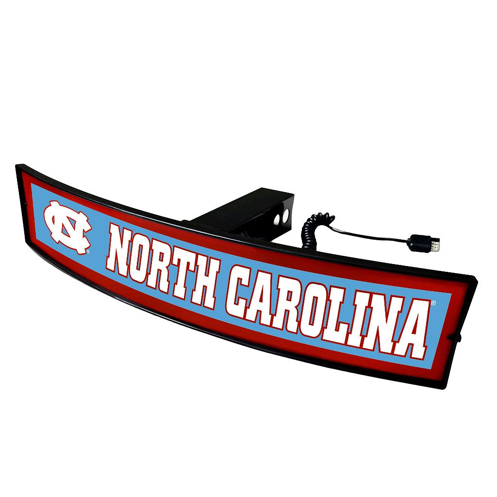 FANMATS North Carolina Tar Heels Light Up Trailer Hitch Cover