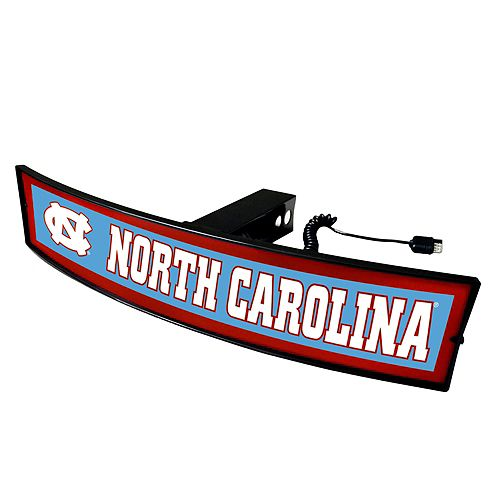 FANMATS North Carolina Tar Heels Light Up Trailer Hitch Cover