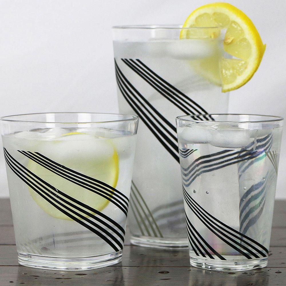Corelle Urban Arc 6-pc. Acrylic Square Glass Set