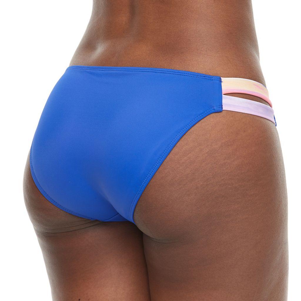 Women's S.O.S. Sun Ocean Sand Strappy Side Bikini Bottoms
