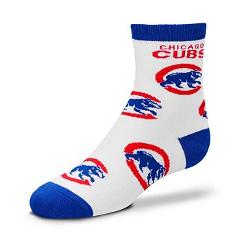 Toddler For Bare Feet Chicago Cubs Socks