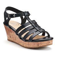 SO® Maple Girls' Wedge Sandals