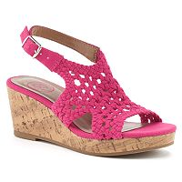SO® Toyger Girls' Wedge Sandals