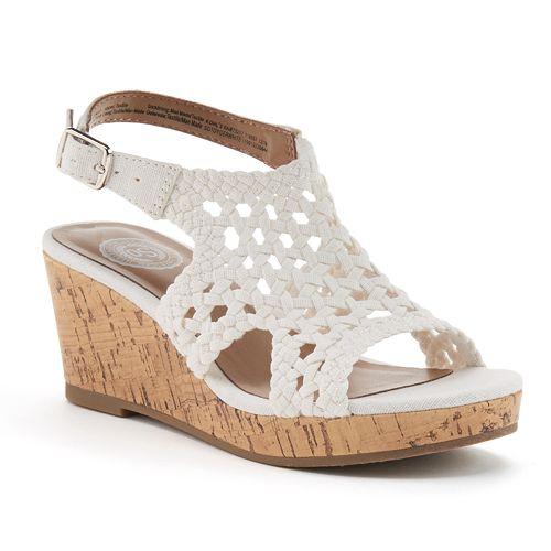 SO® Toyger Girls' Wedge Sandals