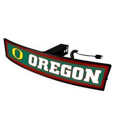FANMATS Oregon Ducks Light Up Trailer Hitch Cover