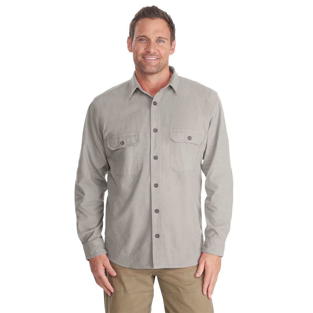 Men's Woolrich Expedition Chamois Classic-Fit Button-Down Shirt