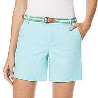 Women's Gloria Vanderbilt Yvonne Twill Shorts