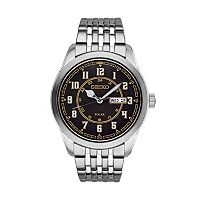 Seiko Men's Recraft Stainless Steel Solar Watch - SNE445