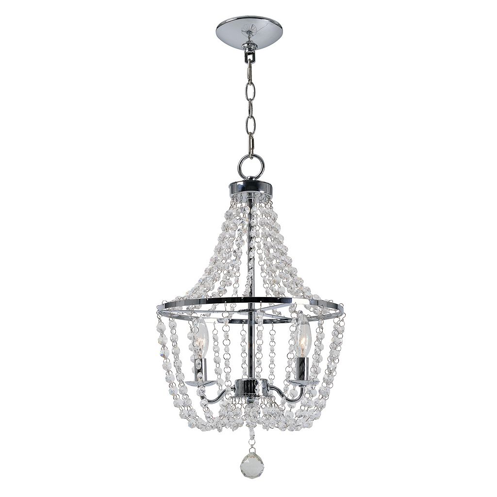 Kenroy Home Traditional 2-Light Glass Chandelier