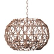 Kenroy Home Torus 3-Light Pendant Lamp