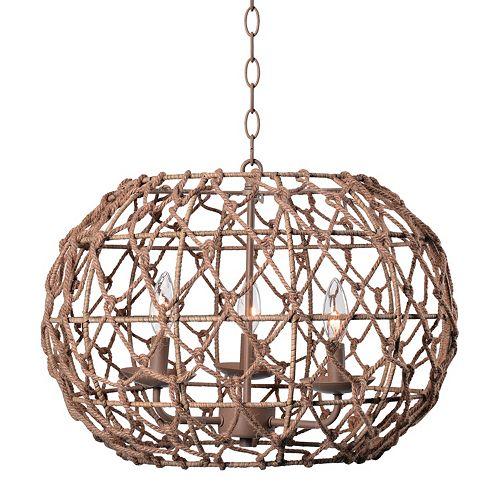 Kenroy Home Torus 3-Light Pendant Lamp