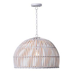 Kenroy Home Moon 1-Light Pendant Ceiling Lamp
