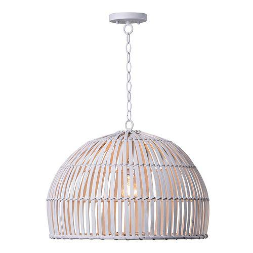 Kenroy Home Moon 1-Light Pendant Ceiling Lamp
