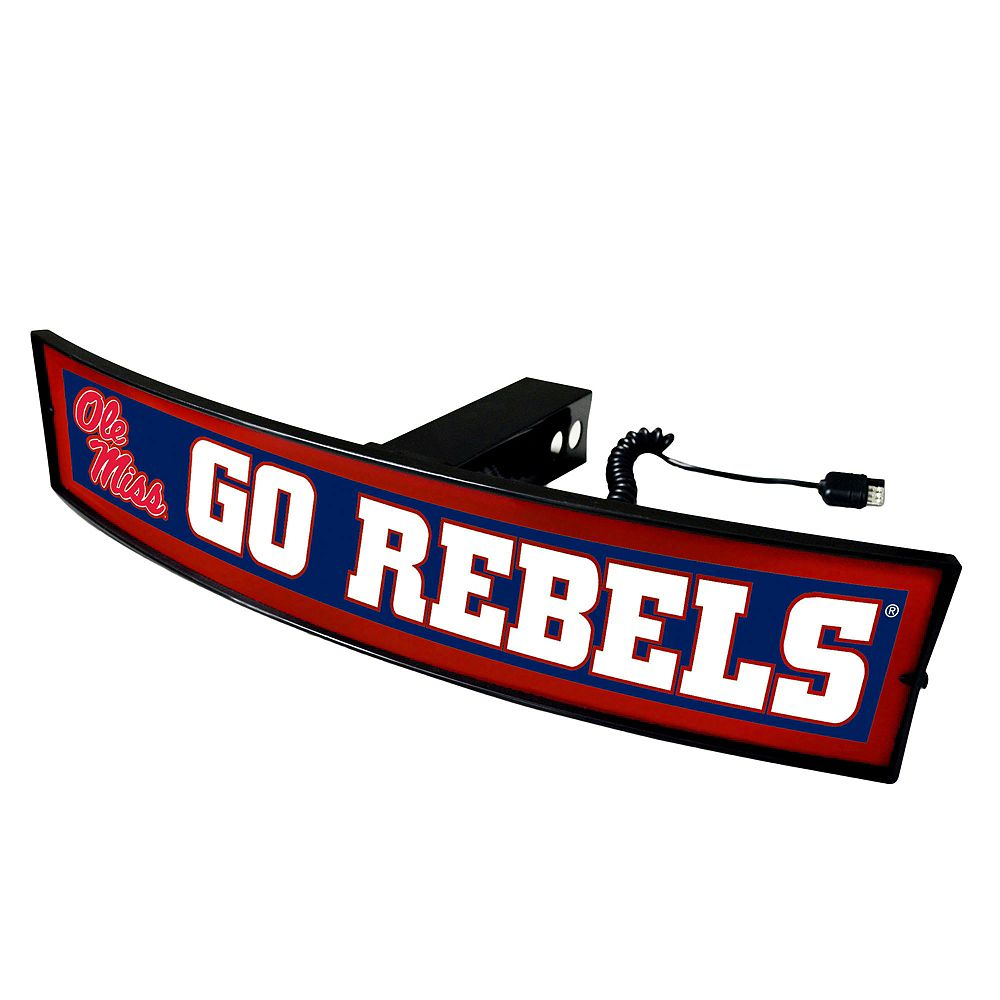 FANMATS Ole Miss Rebels Light Up Trailer Hitch Cover