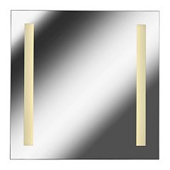 Kenroy Home Medium 2-Light LED Wall Mirror