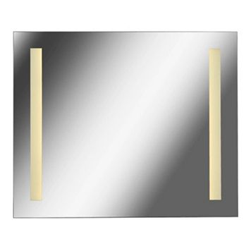 Kenroy Home Large 2-Light LED Wall Mirror