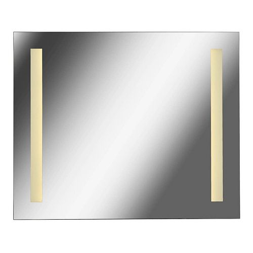 Kenroy Home Large 2-Light LED Wall Mirror