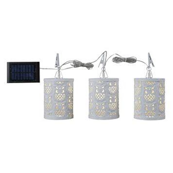 Kenroy Home 3-Light Solar String Lights