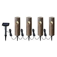 Kenroy Home Solar Light Garden Stake 5-piece Set