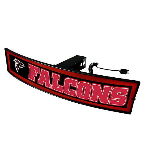 FANMATS Atlanta Falcons Light Up Trailer Hitch Cover