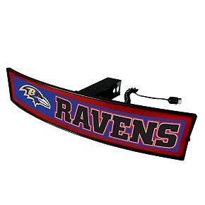 FANMATS Baltimore Ravens Light Up Trailer Hitch Cover