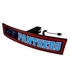 FANMATS Carolina Panthers Light Up Trailer Hitch Cover