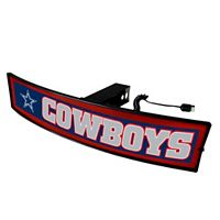 FANMATS Dallas Cowboys Light Up Trailer Hitch Cover