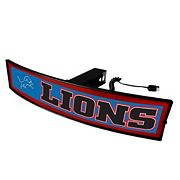 FANMATS Detroit Lions Light Up Trailer Hitch Cover