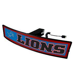 FANMATS Detroit Lions Light Up Trailer Hitch Cover