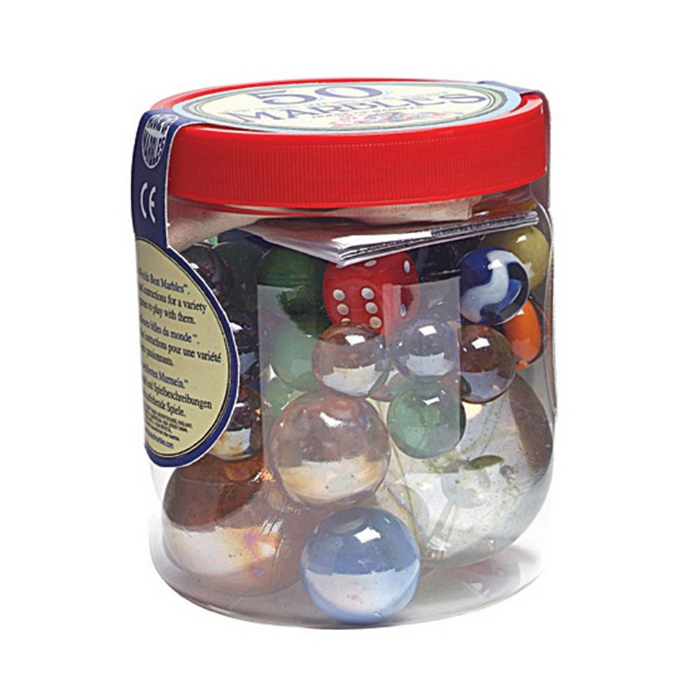 House of Marbles 50-pc. Marbles Tub
