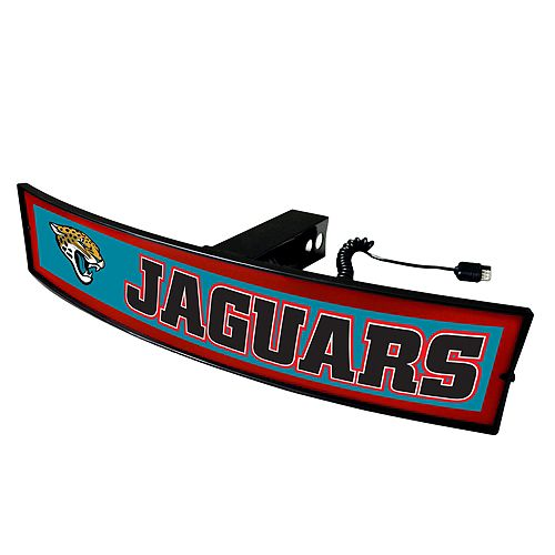 FANMATS Jacksonville Jaguars Light Up Trailer Hitch Cover
