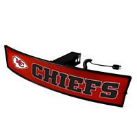 FANMATS Kansas City Chiefs Light Up Trailer Hitch Cover