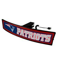 FANMATS New England Patriots Light Up Trailer Hitch Cover