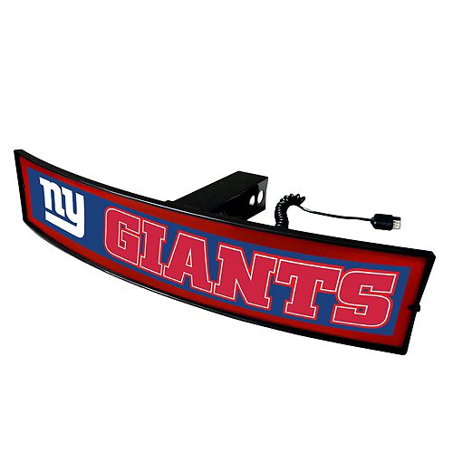 FANMATS New York Giants Light Up Trailer Hitch Cover
