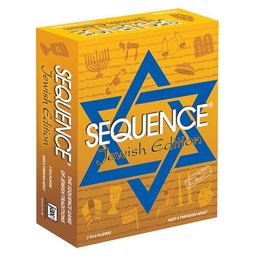 Sequence Game Jewish Edition by Jax Ltd.