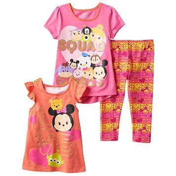 Disney's Tsum Tsum Girls 4-6x