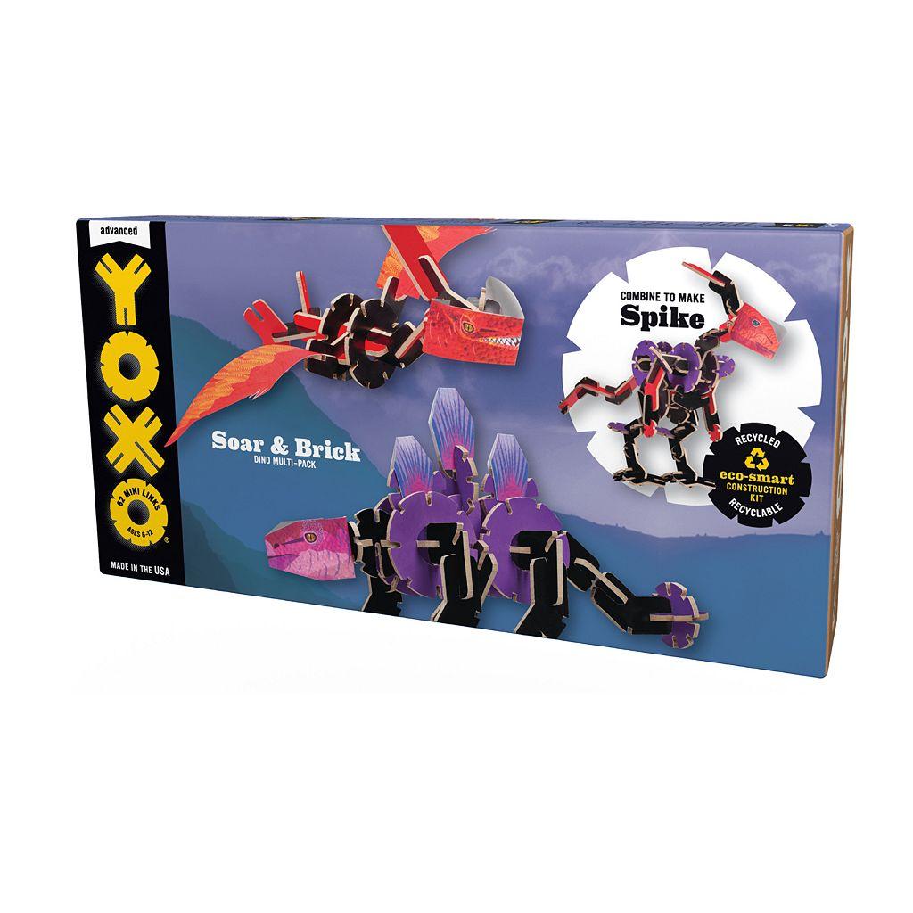 YOXO Soar & Brick Dinosaur 3-in-1 Building Set