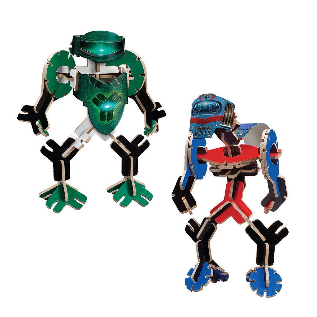 YOXO Amp & Volt Robot Building Toy Multi-Pack