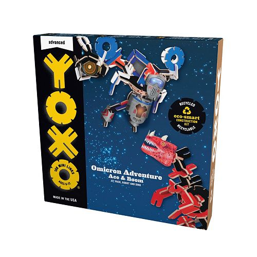 YOXO Omicron Adventure Building Toy Multi-Pack