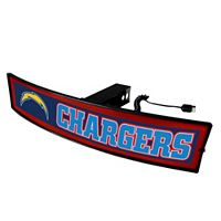 FANMATS San Diego Chargers Light Up Trailer Hitch Cover