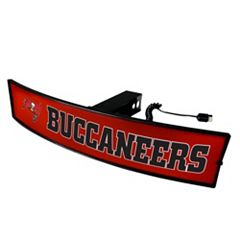 FANMATS Tampa Bay Buccaneers Light Up Trailer Hitch Cover