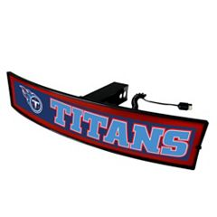 FANMATS Tennessee Titans Light Up Trailer Hitch Cover