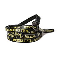 Adult Wichita State Shockers Leather Wrap Bracelet