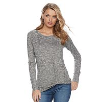 Women's Juicy Couture Marled Twist Top