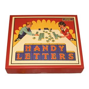 Handy Letters Game by Perisphere & Trylon